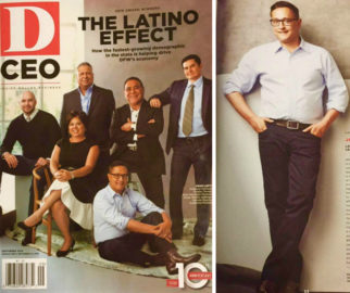"Jorge Baldor Named as 2016 ""Latino Advocate"" by D CEO Magazine"