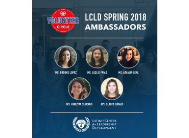LCLD Selects 5 Inaugural Ambassadors for the Spring of 2018